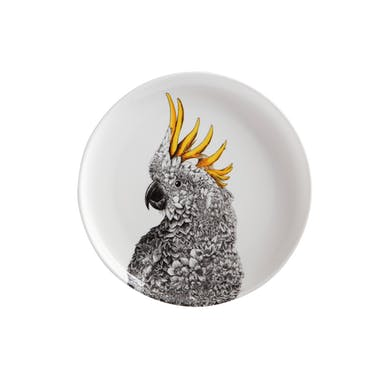 Maxwell & Williams Marini Ferlazzo 20cm Sulphur-crested Cockatoo Plate