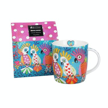 Maxwell & Williams Love Hearts 370ml Chatter Mug
