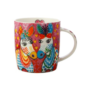 Maxwell & Williams Love Hearts 370ml Zig Zag Zeb Mug