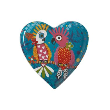 Maxwell & Williams Love Hearts 15.5cm Chatter Heart Plate