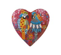 Maxwell & Williams Love Hearts 15.5cm Araras Heart Plate