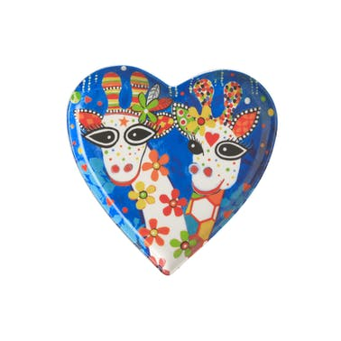 Maxwell & Williams Love Hearts 15.5cm Mr Gee Family Heart Plate