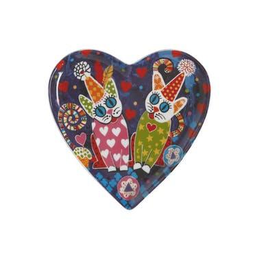 Maxwell & Williams Love Hearts 15.5cm Cup Cakes Heart Plate