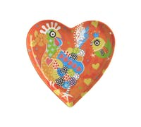 Maxwell & Williams Love Hearts 15.5cm Chicken Dance Heart Plate
