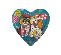 Maxwell & Williams Love Hearts 15.5cm Oodles of Love Heart Plate
