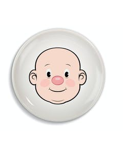 Photo of Fred Food Face Dinner Plate
