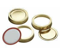 Home Made Box of 12 Screw Band Preserving Jar Lids