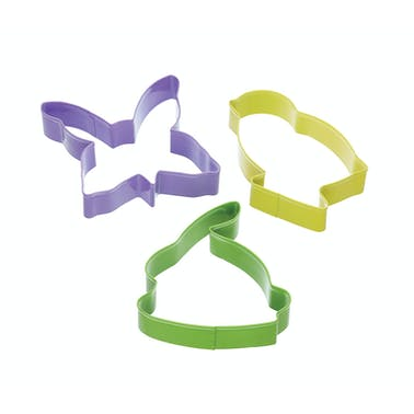 Hoppity Does It Set of 3 Easter Cookie Cutters