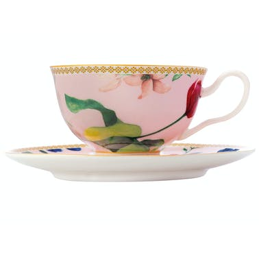 Maxwell & Williams Tea's & C's Contessa 200ml Footed Cup And Saucer Rose