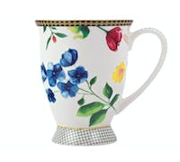 Maxwell & Williams Tea's & C's Contessa 300ml Footed Mug White