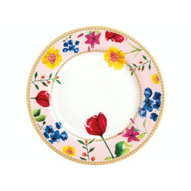 Maxwell & Williams Tea's & C's Contessa 19.5cm Rimmed Plate Rose