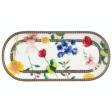 Maxwell & Williams Tea's & C's Contessa 25 x 11.5cm Oblong Platter White