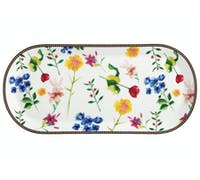 Maxwell & Williams Tea's & C's Contessa 42 x 19.5cm Oblong Platter White