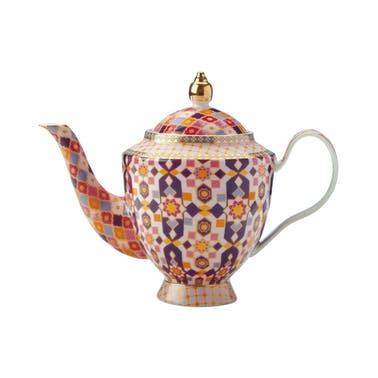 Maxwell & Williams Teas & C's Kasbah Rose 500ml Teapot with Infuser