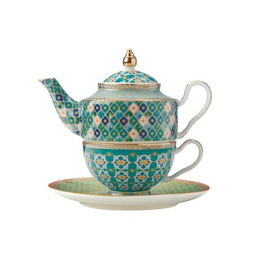 Maxwell & Williams Teas & C's Kasbah Mint Tea for One Set with Infuser