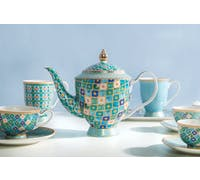 Maxwell & Williams Teas & C's Kasbah Mint 1 Litre Teapot with Infuser