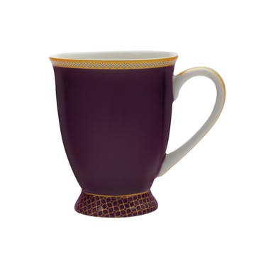 Maxwell & Williams Teas & C's Kasbah Violet 300ml Footed Mug