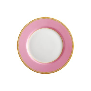 Maxwell & Williams Teas & C's Kasbah 19.5cm Hot Pink High Rim Plate