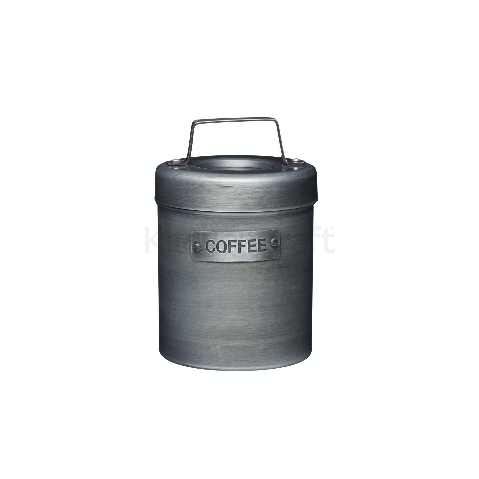 Industrial Kitchen Vintage Style Metal Coffee Canister