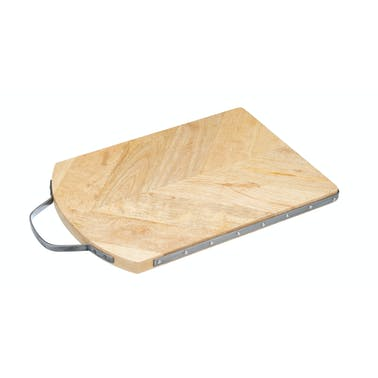 Industrial Kitchen Reversible Mango Wood Board for Serving/Preparing