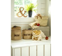 KitchenCraft Natural Elements Potato Jute Sack