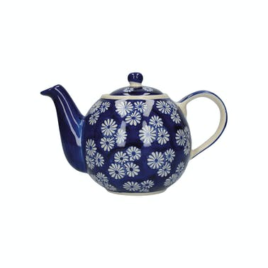 London Pottery Globe® 4 Cup Teapot Small Daisies