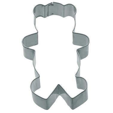 KitchenCraft 7.5cm Teddy Bear Shaped Cookie Cutter
