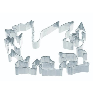 KitchenCraft 15cm Welsh Dragon Shaped Cookie Cutter