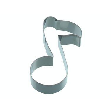 KitchenCraft 12cm Music Note Shaped Cookie Cutter