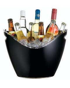 Photo of BarCraft Black Acrylic Drinks Pail / Cooler