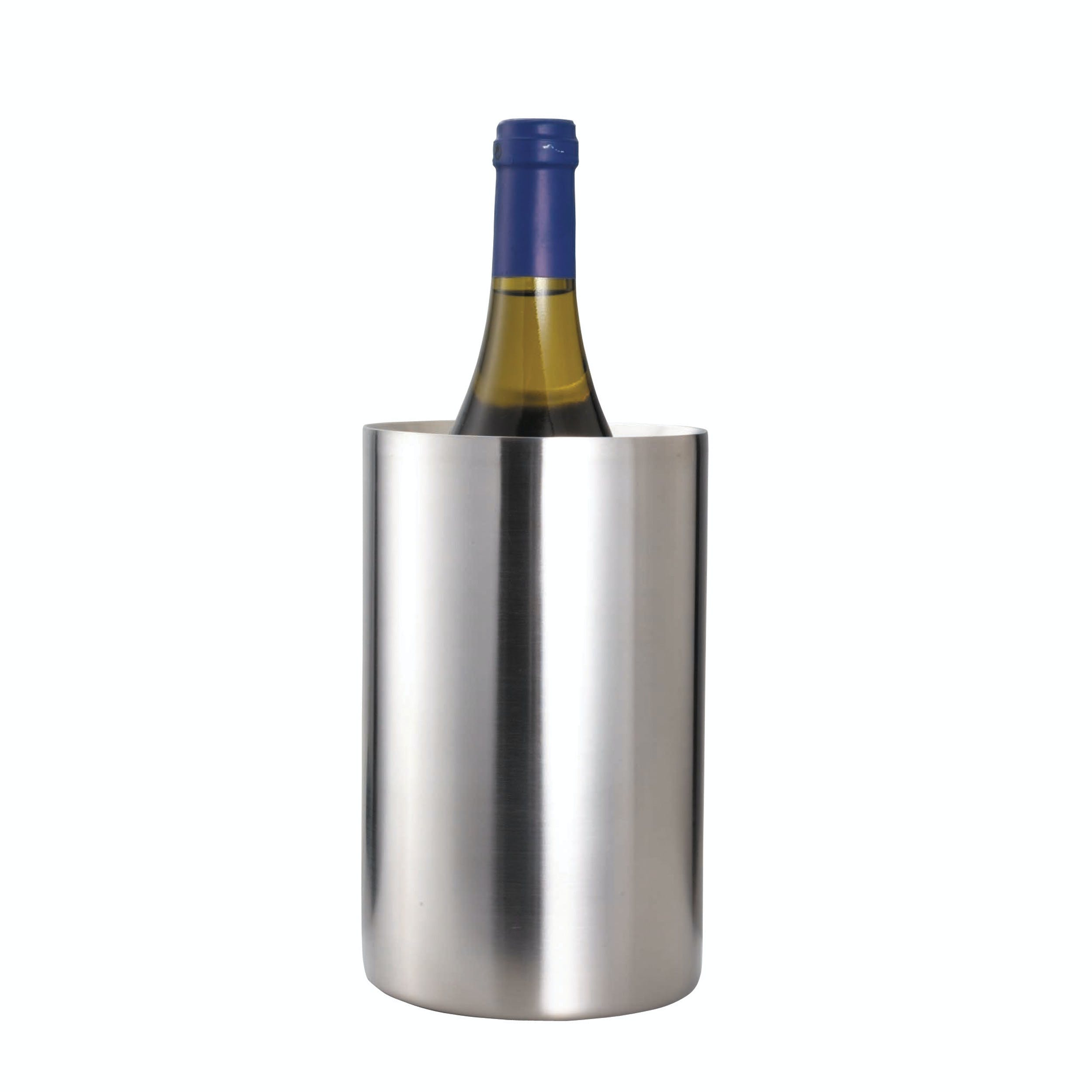 Barcraft Stainless Steel Double Walled Wine Cooler All