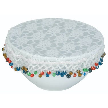 Home Made 20cm Lace Bowl Cover
