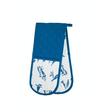 KitchenCraft Blue Bird Double Oven Glove