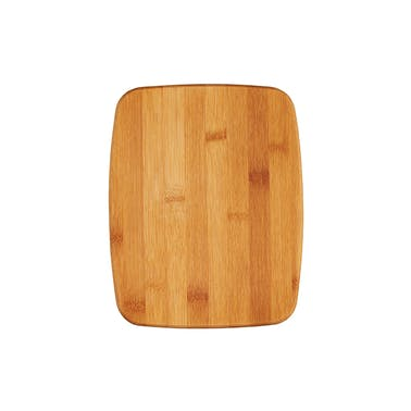 KitchenCraft Small Reversible Bamboo Chopping Board / Cork Trivet