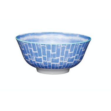 KitchenCraft Blue Watercolour Ceramic Bowls