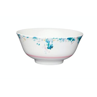 KitchenCraft Watercolour Effect Floral Ceramic Bowls