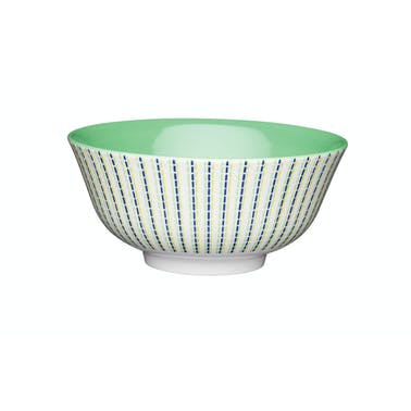 KitchenCraft Moroccan Style Lime Hues Ceramic Bowls