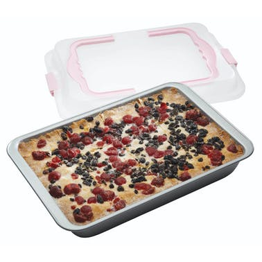 Sweetly Does It Non-Stick Bake and Carry Brownie Tray