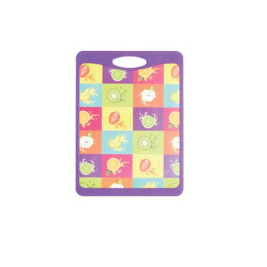 KitchenCraft Small Fruit Design Cut & Serve Reversible Board