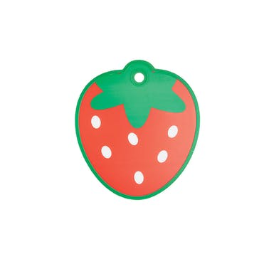 KitchenCraft Strawberry Shaped Cut & Serve Reversible Board