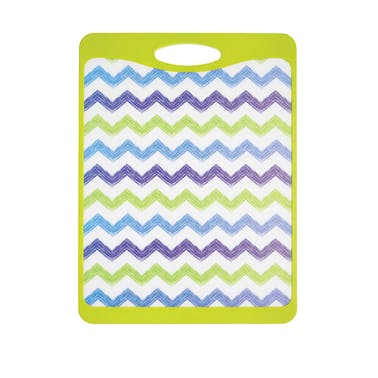 KitchenCraft Large Zigzag Design Reversible Cut & Serve Board