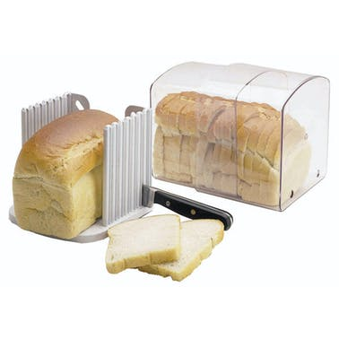 KitchenCraft Expanding Stay Fresh Acrylic Bread Keeper