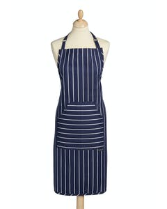 Photo of KitchenCraft Blue Butcher's Stripe Apron