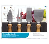KitchenCraft 4 Piece Cheese Knife Set