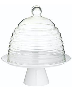Photo of Sweetly Does It Glass Dome Cake Stand