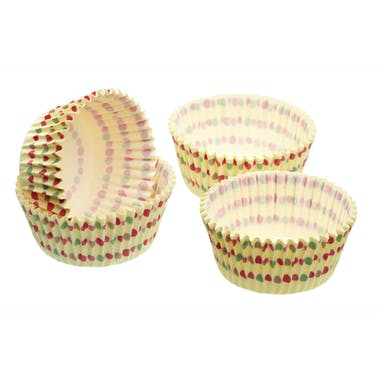 Sweetly Does It Pack of 60 Polka Dot Cake Cases