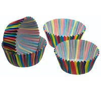 Sweetly Does It Pack of 60 Jazzy Stripe Cake Cases