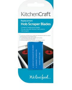 Photo of KitchenCraft Pack of Five Stainless Steel Replacement Scraper Blades