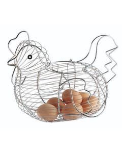 Photo of KitchenCraft Chrome Plated Wire Large Chicken Basket
