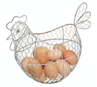Classic Collection Wire Egg Basket